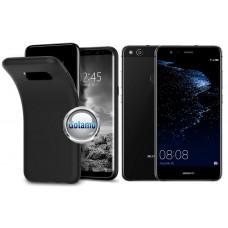 B-matte dėklas nugarėlė Huawei P10 Lite mobiliesiems telefonams juodos spalvos