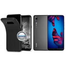 B-matte dėklas nugarėlė Huawei P20 mobiliesiems telefonams juodos spalvos Šiauliai | Vilnius | Šiauliai