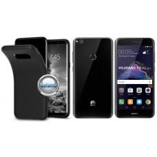 B-matte dėklas nugarėlė Huawei P9 Lite (2017) mobiliesiems telefonams juodos spalvos