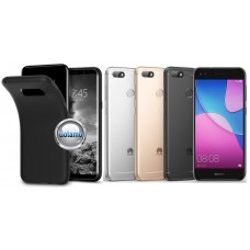 B-matte dėklas nugarėlė Huawei P9 Lite mini mobiliesiems telefonams juodos spalvos