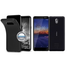B-matte dėklas nugarėlė Nokia 3.1 mobiliesiems telefonams juodos spalvos Plungė | Šiauliai | Klaipėda