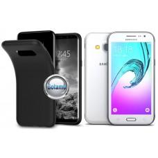 B-matte dėklas nugarėlė Samsung Galaxy J3 (2016) mobiliesiems telefonams juodos spalvos Kaunas | Plungė | Plungė