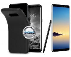 B-matte dėklas nugarėlė Samsung Galaxy Note 8 mobiliesiems telefonams juodos spalvos