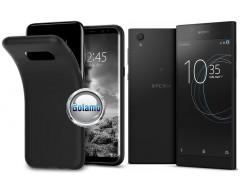 B-matte dėklas nugarėlė Sony Xperia L1 mobiliesiems telefonams juodos spalvos