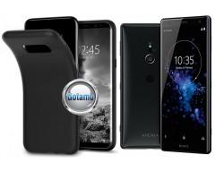 B-matte dėklas nugarėlė Sony Xperia XZ2 mobiliesiems telefonams juodos spalvos