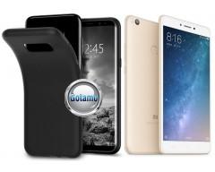 B-matte dėklas nugarėlė Xiaomi Mi Max 2 mobiliesiems telefonams juodos spalvos
