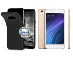 B-matte dėklas nugarėlė Xiaomi Redmi 4A mobiliesiems telefonams juodos spalvos