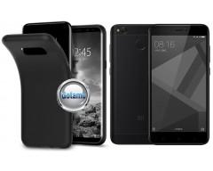 B-matte dėklas nugarėlė Xiaomi Redmi 4X mobiliesiems telefonams juodos spalvos