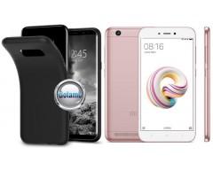 B-matte dėklas nugarėlė Xiaomi Redmi 5A mobiliesiems telefonams juodos spalvos