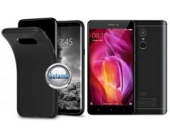 B-matte dėklas nugarėlė Xiaomi Redmi Note 4, Xiaomi Redmi Note 4X mobiliesiems telefonams juodos spalvos