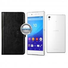 Diary Mate dėklas Sony Xperia Z3+ mobiliesiems telefonams juodos spalvos Šiauliai | Šiauliai | Šiauliai