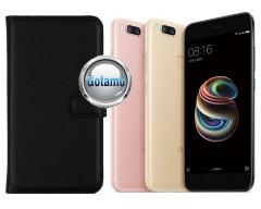 Diary Mate dėklas Xiaomi Mi A1 Xiaomi Mi 5X telefonams juodos spalvos