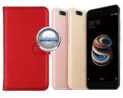 Diary Mate dėklas Xiaomi Mi A1 Xiaomi Mi 5X telefonams raudonos spalvos