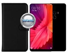 Diary Mate dėklas Xiaomi Mi Mix 2 telefonams juodos spalvos