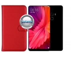 Diary Mate dėklas Xiaomi Mi Mix 2 telefonams raudonos spalvos