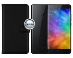 Diary Mate dėklas Xiaomi Mi Note 2 telefonams juodos spalvos