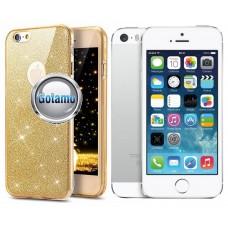 Elizee dėklas nugarėlė Apple iPhone 5 5s SE telefonams aukso spalvos