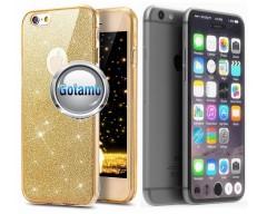 Elizee dėklas nugarėlė Apple iPhone 7 8 SE (2020) telefonams aukso spalvos