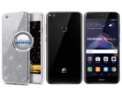 Elizee dėklas nugarėlė Huawei P9 Lite (2017) telefonams sidabro spalvos