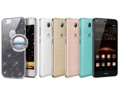 Elizee dėklas nugarėlė Huawei Y5II telefonams grafito spalvos