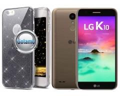 Elizee dėklas nugarėlė LG K10 (2017) telefonams grafito spalvos