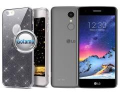 Elizee dėklas nugarėlė LG K8 (2017) telefonams grafito spalvos