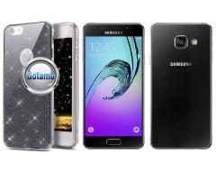 Elizee dėklas nugarėlė Samsung Galaxy A3 (2016) telefonams grafito spalvos