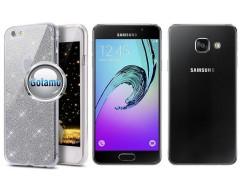 Elizee dėklas nugarėlė Samsung Galaxy A3 (2016) telefonams sidabro spalvos