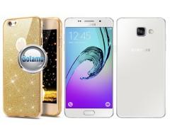 Elizee dėklas nugarėlė Samsung Galaxy A5 (2016) telefonams aukso spalvos