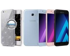 Elizee dėklas nugarėlė Samsung Galaxy A5 (2017) telefonams sidabro spalvos