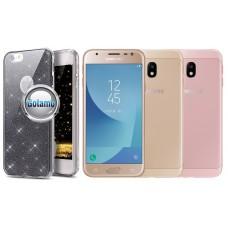 Elizee dėklas nugarėlė Samsung Galaxy J3 (2017) telefonams grafito spalvos