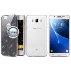 Elizee dėklas nugarėlė Samsung Galaxy J5 (2016) telefonams grafito spalvos