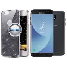 Elizee dėklas nugarėlė Samsung Galaxy J5 (2017) J5 Pro telefonams grafito spalvos