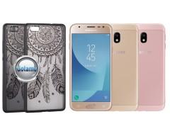 Engrave Feather nugarėlė Samsung Galaxy J3 (2017) telefonams juodos spalvos
