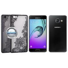 Engrave Lotus dėklas nugarėlė Samsung Galaxy A3 (2016) telefonams juodos spalvos Plungė | Palanga | Kaunas
