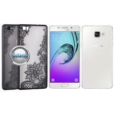 Engrave Lotus dėklas nugarėlė Samsung Galaxy A5 (2016) telefonams juodos spalvos Plungė | Vilnius | Vilnius