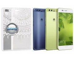 Engrave Tidy dėklas nugarėlė Huawei P10 telefonams baltos spalvos