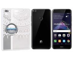 Engrave Tidy dėklas nugarėlė Huawei P9 Lite (2017) telefonams baltos spalvos