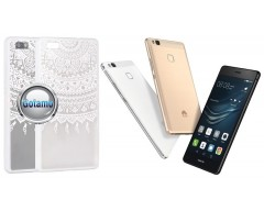 Engrave Tidy dėklas nugarėlė Huawei P9 Lite telefonams baltos spalvos