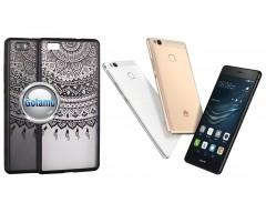 Engrave Tidy dėklas nugarėlė Huawei P9 Lite telefonams juodos spalvos