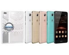 Engrave Tidy dėklas nugarėlė Huawei Y5II telefonams baltos spalvos