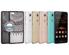 Engrave Tidy dėklas nugarėlė Huawei Y5II telefonams juodos spalvos