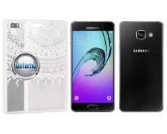 Engrave Tidy dėklas nugarėlė Samsung Galaxy A3 (2016) telefonams baltos spalvos