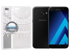 Engrave Tidy dėklas nugarėlė Samsung Galaxy A3 (2017) telefonams baltos spalvos