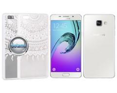Engrave Tidy dėklas nugarėlė Samsung Galaxy A5 (2016) telefonams baltos spalvos