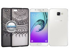 Engrave Tidy dėklas nugarėlė Samsung Galaxy A5 (2016) telefonams juodos spalvos