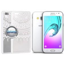 Engrave Tidy dėklas nugarėlė Samsung Galaxy J3 (2016) telefonams baltos spalvos Palanga   Telšiai   Plungė