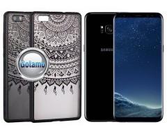 Engrave Tidy dėklas nugarėlė Samsung Galaxy S8+ telefonams juodos spalvos