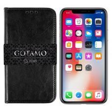 Gotamo D-gravity natūralios odos dėklas Apple iPhone X Xs mobiliesiems telefonams juodos spalvos Klaipėda | Šiauliai | Palanga