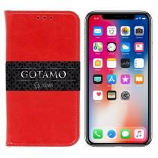 Gotamo D-gravity natūralios odos dėklas Apple iPhone X Xs mobiliesiems telefonams raudonos spalvos Telšiai | Kaunas | Vilnius